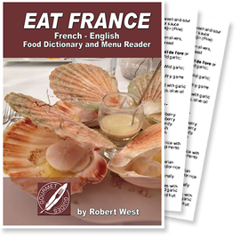 Eat France - Our NEW English-French Food Dictionary