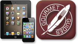 Click here to buy the new Gourmet Guides App